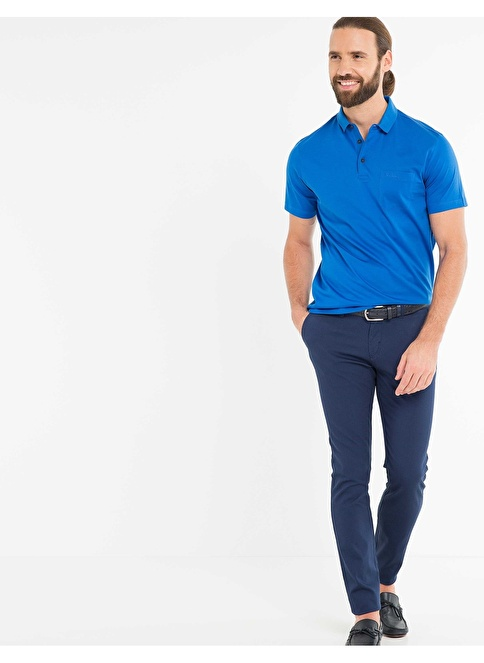 Pierre Cardin Polo Yaka Tişört Mavi